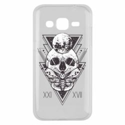 Чохол для Samsung J2 2015 Skull with insect