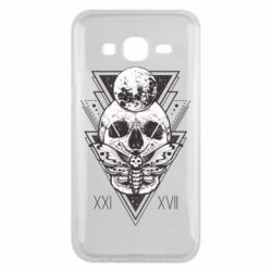 Чохол для Samsung J5 2015 Skull with insect