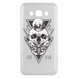 Чохол для Samsung J5 2016 Skull with insect