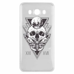 Чохол для Samsung J7 2016 Skull with insect