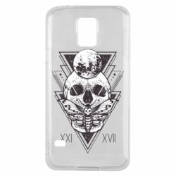 Чохол для Samsung S5 Skull with insect