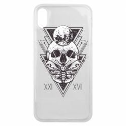 Чохол для iPhone Xs Max Skull with insect