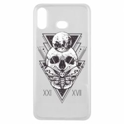 Чохол для Samsung A6s Skull with insect