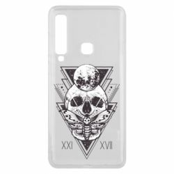 Чохол для Samsung A9 2018 Skull with insect