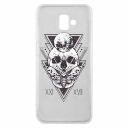 Чохол для Samsung J6 Plus 2018 Skull with insect