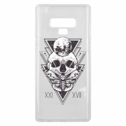 Чохол для Samsung Note 9 Skull with insect