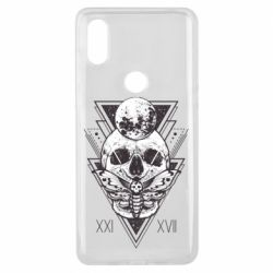Чохол для Xiaomi Mi Mix 3 Skull with insect
