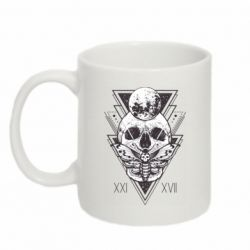 Кружка 320ml Skull with insect