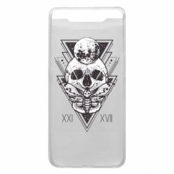 Чохол для Samsung A80 Skull with insect