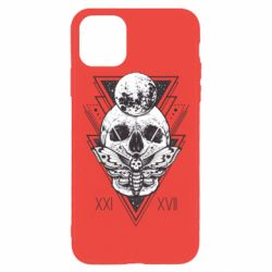 Чохол для iPhone 11 Pro Max Skull with insect