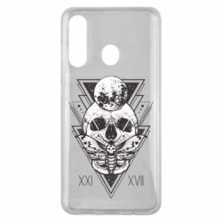 Чохол для Samsung M40 Skull with insect