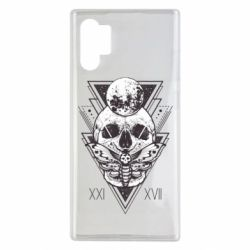 Чохол для Samsung Note 10 Plus Skull with insect