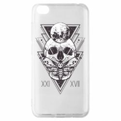 Чохол для Xiaomi Redmi Go Skull with insect