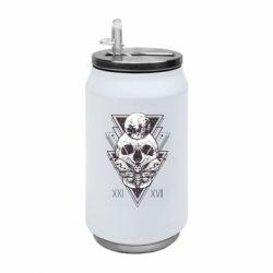 Термобанка 350ml Skull with insect