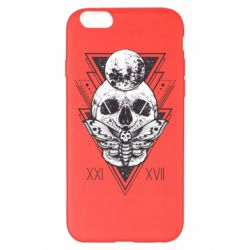 Чохол для iPhone 6 Plus/6S Plus Skull with insect