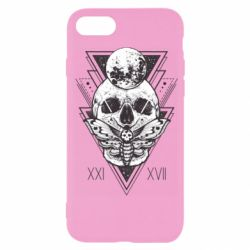 Чохол для iPhone 7 Skull with insect