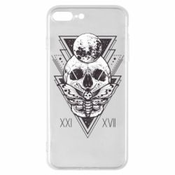 Чохол для iPhone 7 Plus Skull with insect