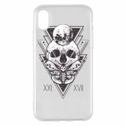 Чохол для iPhone X/Xs Skull with insect