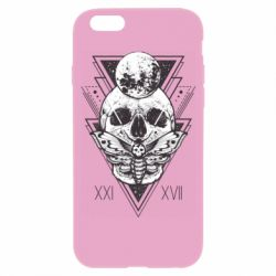 Чохол для iPhone 6/6S Skull with insect
