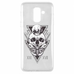 Чохол для Samsung A6+ 2018 Skull with insect