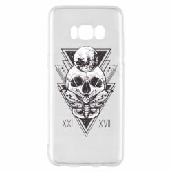 Чохол для Samsung S8 Skull with insect