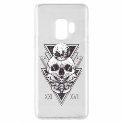 Чохол для Samsung S9 Skull with insect