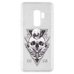 Чохол для Samsung S9+ Skull with insect