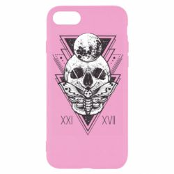 Чохол для iPhone 8 Skull with insect