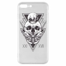 Чохол для iPhone 8 Plus Skull with insect