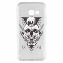 Чохол для Samsung A3 2017 Skull with insect