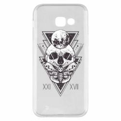Чохол для Samsung A5 2017 Skull with insect