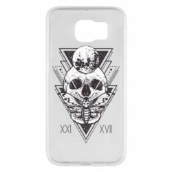 Чохол для Samsung S6 Skull with insect