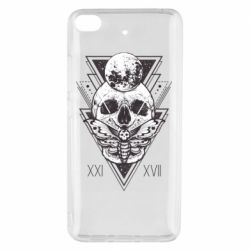 Чохол для Xiaomi Mi 5s Skull with insect