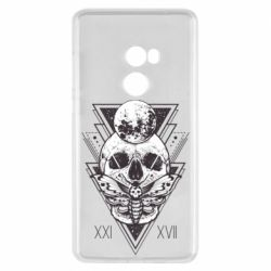 Чохол для Xiaomi Mi Mix 2 Skull with insect