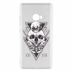 Чохол для Xiaomi Mi Note 2 Skull with insect