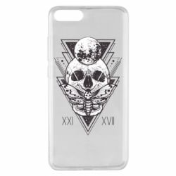 Чохол для Xiaomi Mi Note 3 Skull with insect