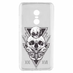 Чохол для Xiaomi Redmi Note 4 Skull with insect