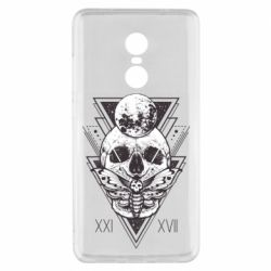 Чохол для Xiaomi Redmi Note 4x Skull with insect