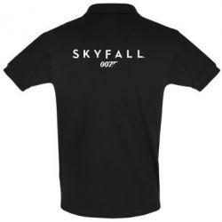 Футболка Поло Skyfall 007 - FatLine
