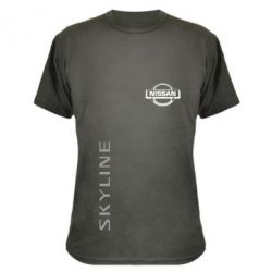 Камуфляжная футболка Skyline Logo (Nissan) - FatLine