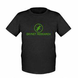 Детская футболка Skynet Research - FatLine