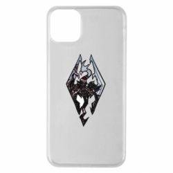 Чехол для iPhone 11 Pro Max Skyrim Logo