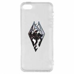 Чехол для iPhone5/5S/SE Skyrim Logo