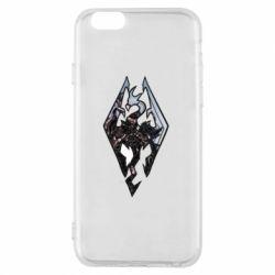 Чехол для iPhone 6/6S Skyrim Logo