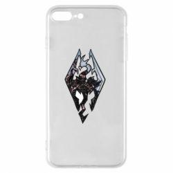 Чехол для iPhone 7 Plus Skyrim Logo