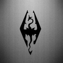 Наклейка Skyrim - FatLine