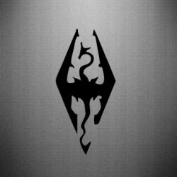Наклейка Skyrim
