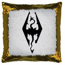 Подушка-хамелеон Skyrim