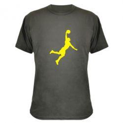 Камуфляжна футболка Slam dunk