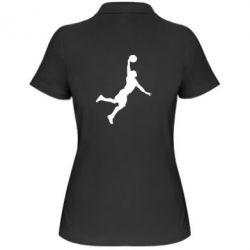 Жіноча футболка поло Slam dunk